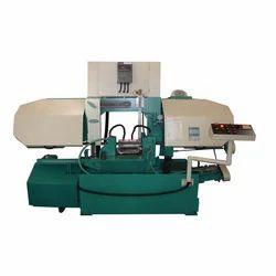 Hydraulic Double Column Heavy Duty Bandsaw Machine, Metal Cutting