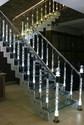 Acrylic Stainless Steel Staircase
