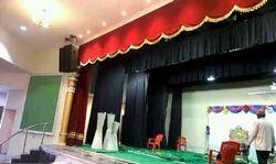Auditorium Sliding Curtains