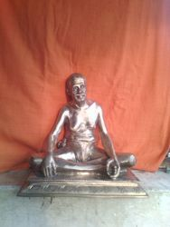 Sri Ramana Mahirishi In Panchaloham 12 Inches