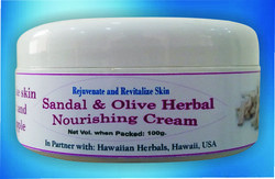 Sandal and Olive Herbal Nourshing Cream