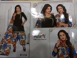 Patiala printed suit