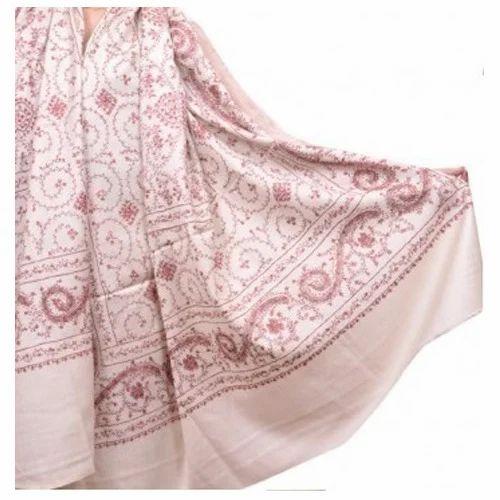 e3ea88368 White Color WoolHub Ladies Pashmina Shawl, Rs 7699 /piece | ID ...