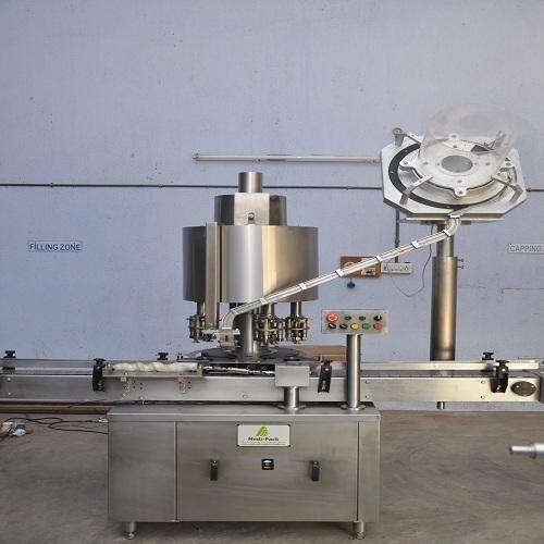 Medipack Stainless Steel Ropp Cap Sealing Machine, Model: MPACP-100, Capacity: 2400 To 3600 Bph
