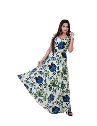 Rayon Printed Dress