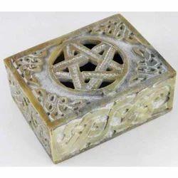 Soapstone Artwork Box
