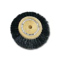 Circular Black Brushes