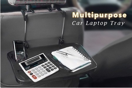 Multipurpose Car Back Seat Laptop Tray, Car Seat Laptop Tray