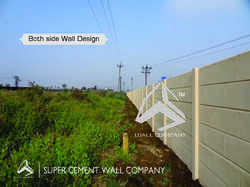 RCC Folding Ready Made Prestressed Wall