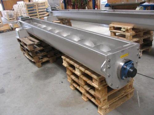 Spiral Screw Conveyor Capacity 100 Kg Rs 18000 Meter