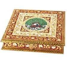 Wooden Meenakari Box