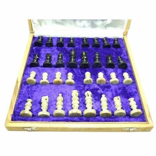 Soapstone Chess Set, Packaging Type: Box