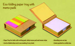 Sticky Pad With Colour Paper