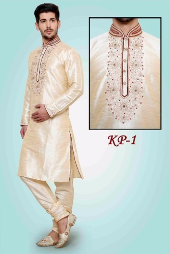Silk Designer Party Wear Kurta Pyjamas