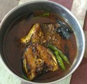 Black Paper With Ajwain Fish Curry(food)
