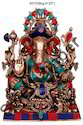 Handicraft Ganesha Statue Brass