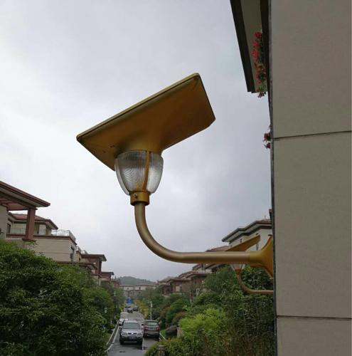 7W Solar LED Lotus Light