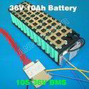 36V 10Ah Electric Bike Battery BMS