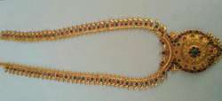 Gold Covering Long Chain