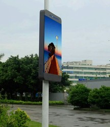 Street Pole LED Advertising Display