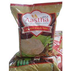 Organic Chakki Fresh Atta, 1.54 G Per 100 G, Pack Type: Plastic Bag