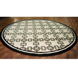 Tibetan Weave Round Carpet