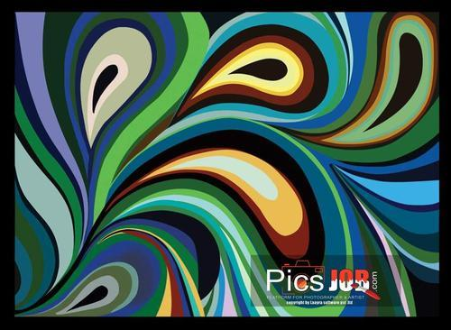 Designer Abstract Painting Services in Pitampura, Delhi, Laayra ...