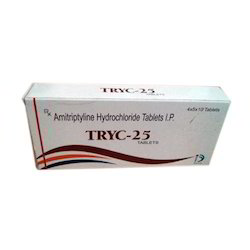 Amitriptyline Hydrochloride Tablets IP, Packaging Size: 4 X 5 X 10 Tablets, Packaging Type: Box