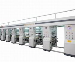 Blister Lid Foil Printing Machine
