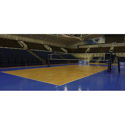 Volley Ball Court Synthetic Flooring