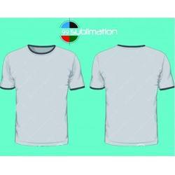 Round Neck Sublimation Printed T-Shirt