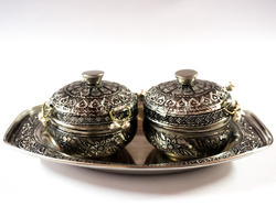 Roop Rachana Creations Container Stainless Steel Decorative