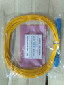 Syrotech Yellow And Orange Power Cable, Conductor Stranding: Fiber Patch Cord, 2