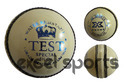 White Leather Cricket Ball - Test