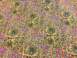 Rain Forest Design Block Printed Fabric