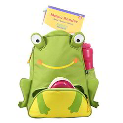 Frog Shape Small School Bag