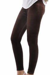 Kyron Fashion Brown Velvet Leggings