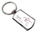 Sublimation Metal Key Chain