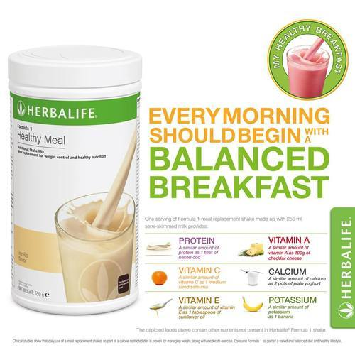 Weight Loss Gain Herbalife Nutrition Shake