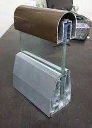 Aluminium Panel Glass Railing