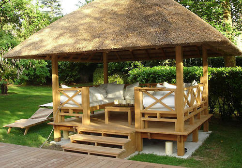 Frp Bamboo Hut Rs 700 Square Feet Thatched Roof Eco