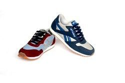 Alley Blue and Maroon Marathon Shoes, Size: 6 and 10