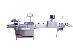Labeling Machine with Shrink Tunnel