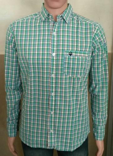 Small Plain Men' s Full Sleeve Shirt