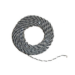Black And White Pvc Electrical Wire