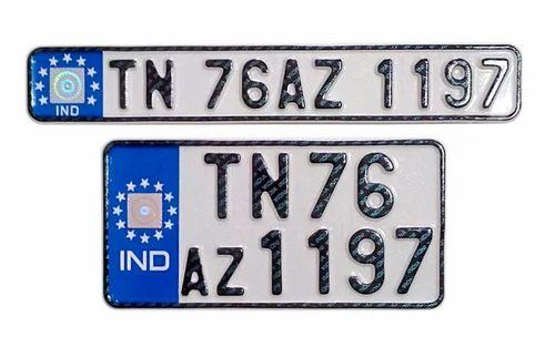 IND Number Plates at Rs 700 /set | Peenya | Bengaluru | ID: 2826709430
