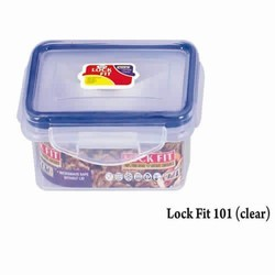 Plastic Lock Fit Lunch Box