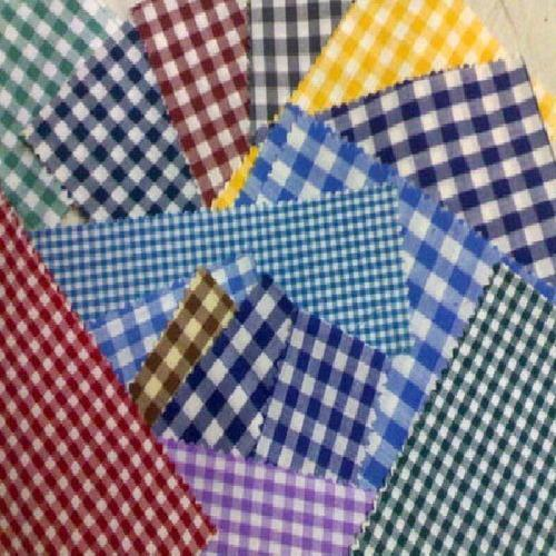 Gingham School Checks Uniform Fabric