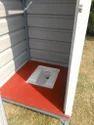 Steel Prefab Portable Toilet