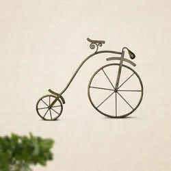 Ancient Bicycle Wall Art